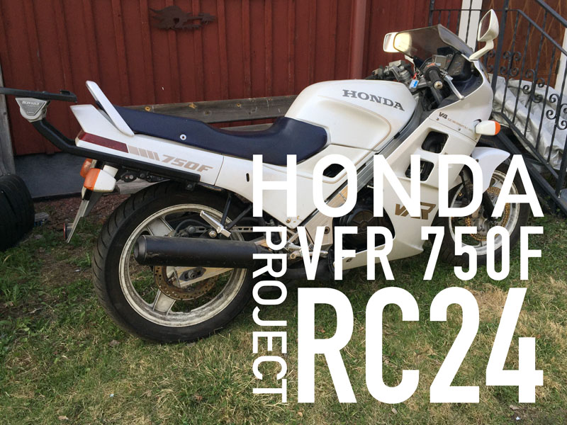 Honda VFR 750F -86