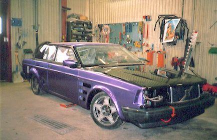 Volvo 262 Bertone Coupé race car